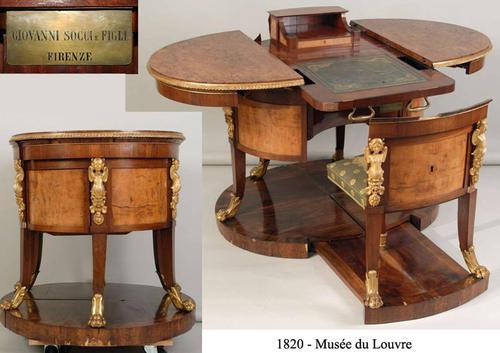La restauration du mobilier c2rmf - Meuble cabinet de curiosite ...